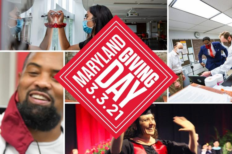 Giving Day 2021 Collage