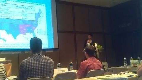 Dr. Roberts presenting at the 6th International Congress on Physical Activity and Health Conference in Bangkok, Thailand, November 16, 2016.