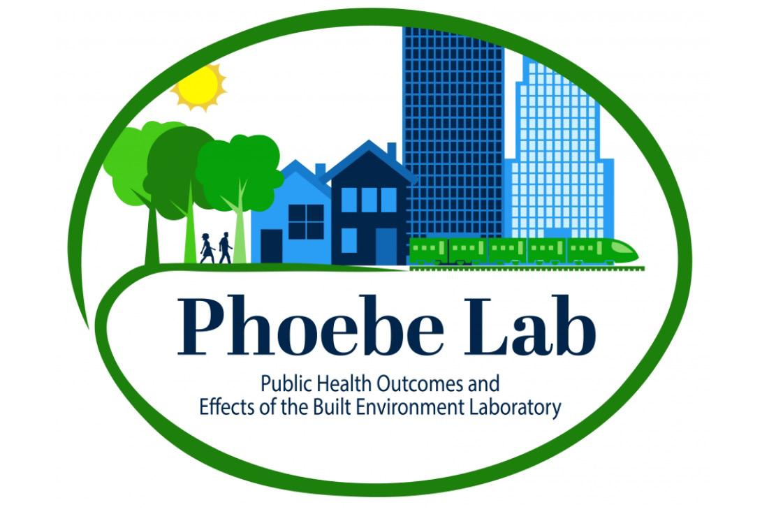 Public Health Outcomes and Effects of the Built Environment (PHOEBE) Laboratory Logo