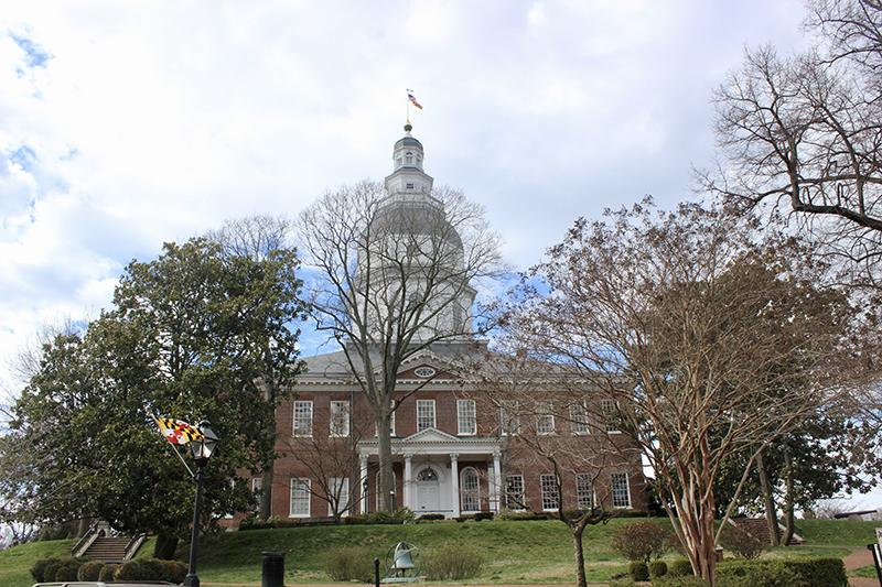 Photo of Maryland State House in Annapolis