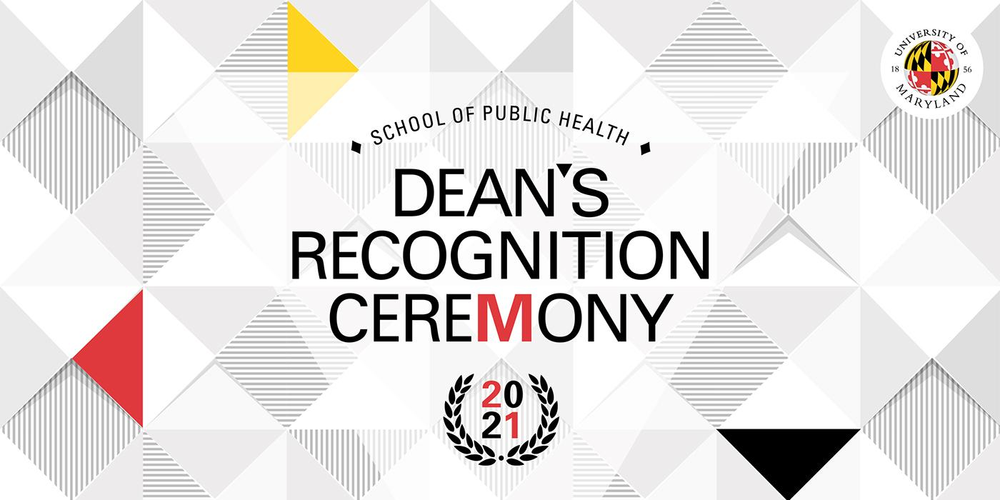 SPH Dean's Recognition Ceremony Logo